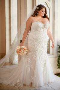 Plus Size Wedding Dresses Elegant Lace Bridal San Jose Ca,Steven Khalil Mermaid Wedding Dress
