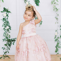 Flower Girl Pink Dress by Amalee